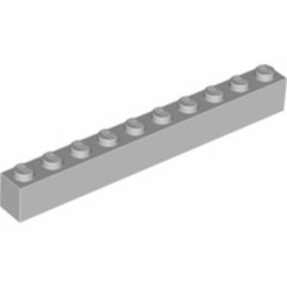 LEGO 4211521 BRIQUE 1X10 - MEDIUM STONE GREY