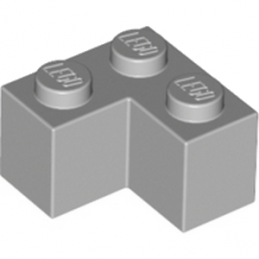 LEGO 4211349 BRIQUE ANGLE 1X2X2 - MEDIUM STONE GREY