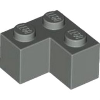 LEGO 4211109 BRIQUE D'ANGLE 1X2X2 - DARK STONE GREY