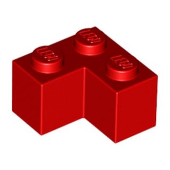 LEGO 235721 BRIQUE D'ANGLE 1X2X2 - ROUGE