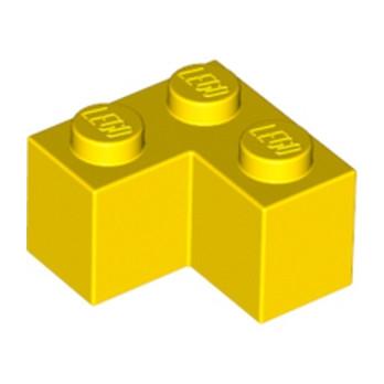 LEGO 235724 BRIQUE D'ANGLE 1X2X2 - JAUNE