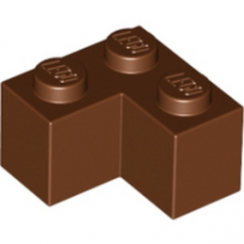 LEGO 4211200 BRICK CORNER 1X2X2 - Marron