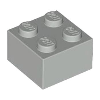 LEGO 4211387 BRICK 2X2 - MEDIUM STONE GREY