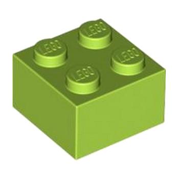 LEGO 4220632 BRICK 2X2 - BRIGHT YELLOWISH GREEN
