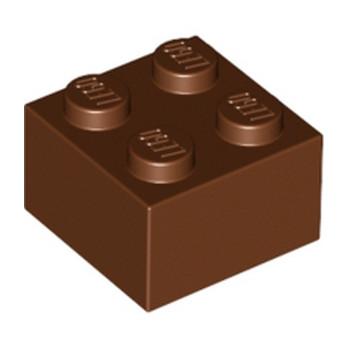 LEGO 4211210 BRICK 2X2 - REDDISH BROWN
