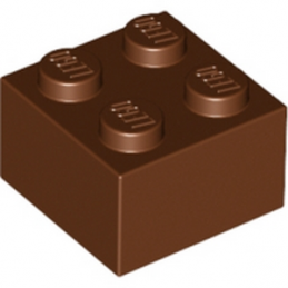LEGO 4211210 - Brique 2X2 - Reddish Brown