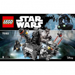Notice / Instruction Lego Star Wars  75183