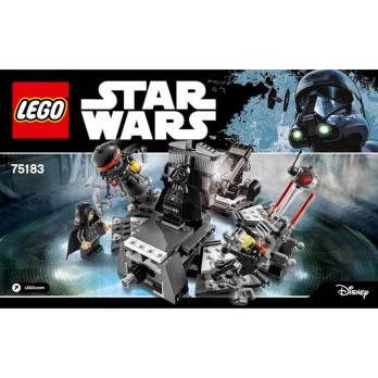 Notice / Instruction Lego Star Wars 75183