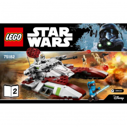 Notice / Instruction Lego Star Wars  75182