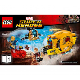 Notice / Instruction Lego Super Heroes 76080