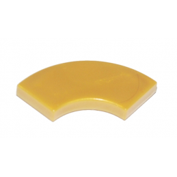 LEGO 6173654 PLATE LISSE 2X2 1/4 ROND - WARM GOLD