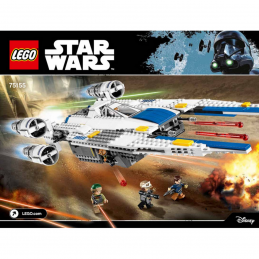 Notice / Instruction Lego Star Wars  75155