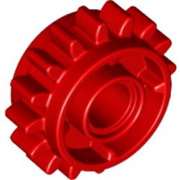 LEGO 6100930 - GEAR WHEEL Z16 W. Ø.4,85 - ROUGE