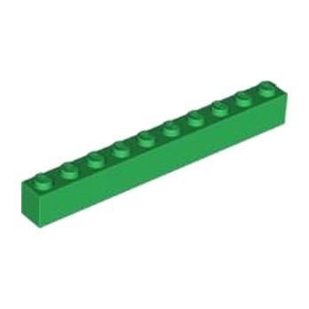 LEGO 6249998 BRICK 1X10 - DARK GREEN