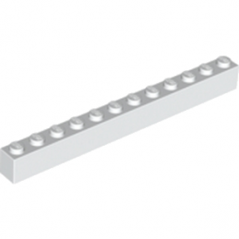 LEGO 611201 BRICK 1X12 - WHITE