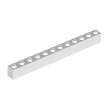 LEGO 611201 BRIQUE 1X12 - BLANC