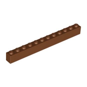 LEGO 4222627 BRICK 1X12 - REDDISH BROWN