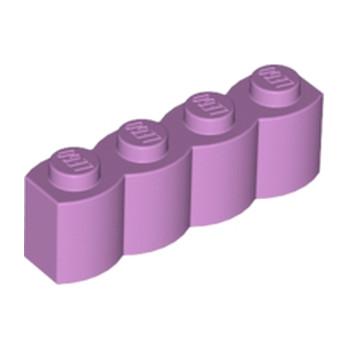 LEGO 6146879 - BRIQUE PALISSADE 1X4 - MEDIUM LAVENDER