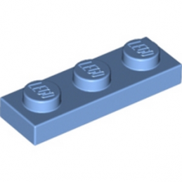 LEGO 6170268 PLATE 1X3 - Medium Blue