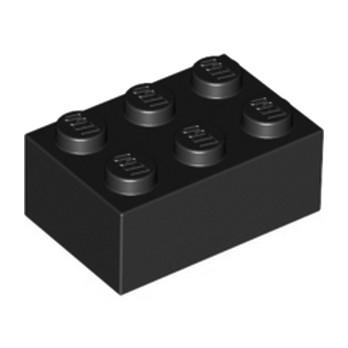 LEGO 300226 BRICK 2X3 - BLACK