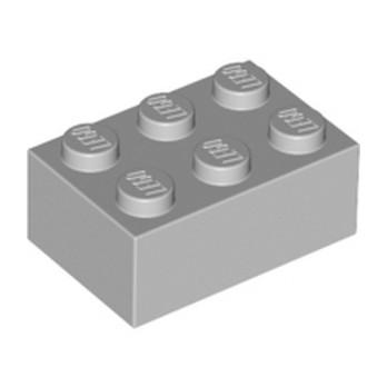 LEGO 4211386 BRICK 2X3 - MEDIUM STONE GREY