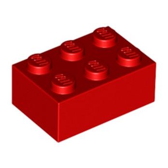 LEGO 300221 BRIQUE 2X3 - ROUGE