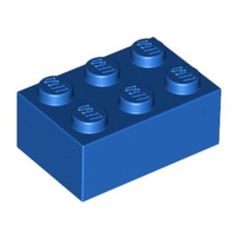 LEGO 300223 BRICK 2X3 - BLUE