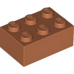 LEGO 4122461 BRIQUE 2X3 - Dark Orange