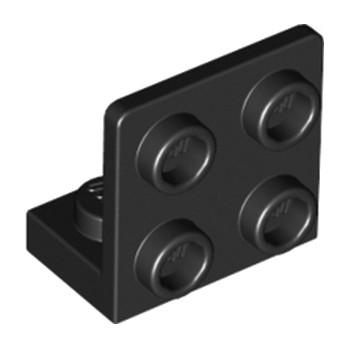 LEGO 6000650 ANGULAR PLATE 1.5 BOT. 1X2 22 - NOIR
