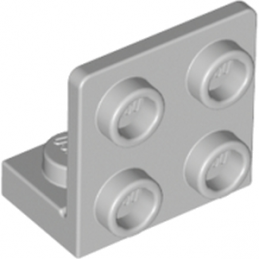 LEGO 4654580 ANGULAR PLATE 1.5 BOT. 1X2 22 - MEDIUM STONE GREY