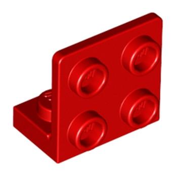 LEGO 6001806 ANGULAR PLATE 1.5 BOT. 1X2 2/2 - ROUGE
