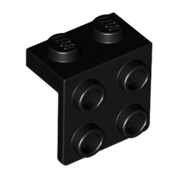 LEGO 4184645 ANGLE PLATE 1X2 2X2 - NOIR