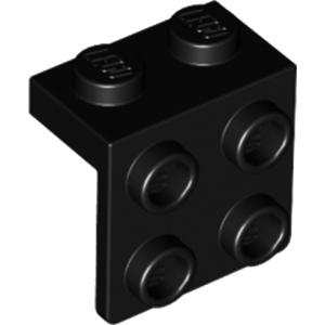 LEGO JEU 4 x Rouge//Noir Dés Cubes 2 x 2 x 2 avec Caoutchouc Surround 24 pins