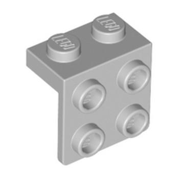 LEGO 4211811 ANGLE PLATE 1X2  2X2 - Medium Stone Grey lego-6117967-angle-plate-1x2-2x2-medium-stone-grey ici :