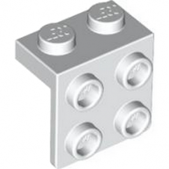 LEGO 4203147 ANGLE PLATE 1X2  2X2 - BLANC