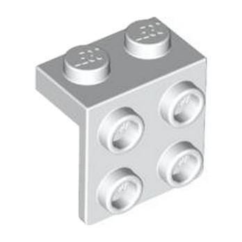 LEGO 4203147 ANGLE PLATE 1X2  2X2 - BLANC lego-6117940-angle-plate-1x2-2x2-blanc ici :