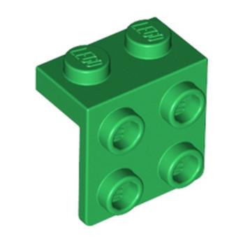 LEGO 4212471 ANGLE PLATE 1X2 / 2X2 - Dark Green