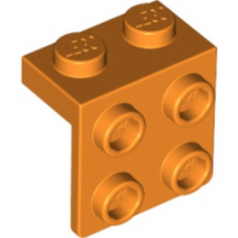 LEGO 4212467ANGLE PLATE 1X2 / 2X2 - Bright Orange lego-6117969-angle-plate-1x2-2x2-orange ici :