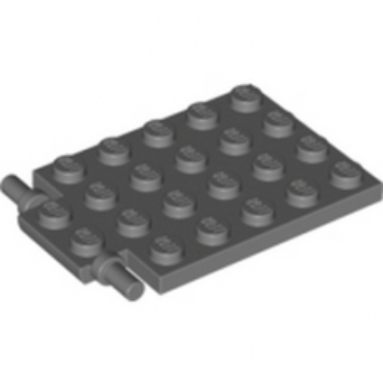 LEGO 4595710 -  Trappe 4X5 - Ø3.2 - Dark Stone Grey
