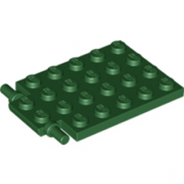 LEGO 6074913- Trappe 4X5 - Ø3.2 - EARTH GREEN