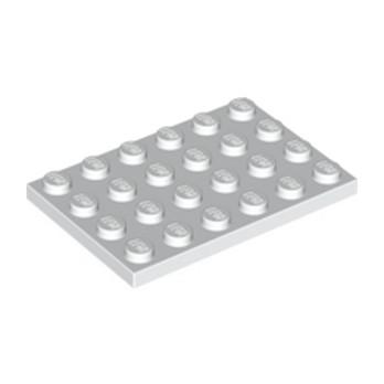 LEGO 303201 PLATE 4X6 - BLANC