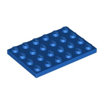 LEGO 303223 PLATE 4X6 - BLUE