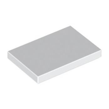 LEGO 6156667 - Plate Lisse 2X3 - Blanc