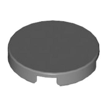 LEGO 4620079  Plate Lisse 2X2, Rond - Dark Stone Grey