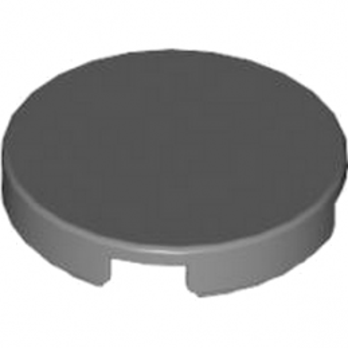 LEGO 4620079 PLAT LISSE 2X2 ROND - DARK STONE GREY lego-6056296-plat-lisse-2x2-rond-dark-stone-grey ici :