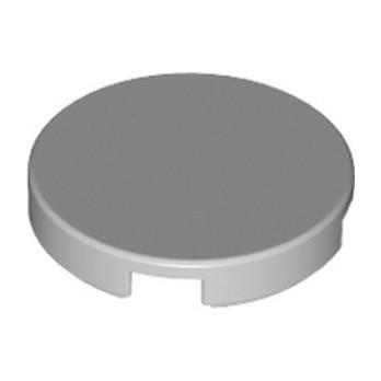 LEGO 4211480 Plate Lisse 2X2, Rond  - Medium Stone Grey