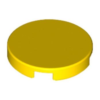 LEGO 415024 PLAT LISSE 2X2 ROND - JAUNE