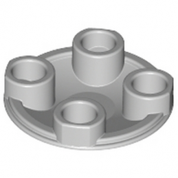 LEGO 4211372 ROND LISSE 2X2 INV  - Medium Stone Grey