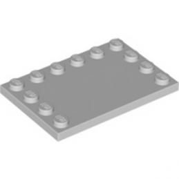LEGO 4211838 PLATE 4X6 W. 12 KNOBS - MEDIUM STONE GREY