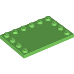 LEGO 6027575 PLATE 4X6 W. 12 KNOBS - BRIGHT GREEN